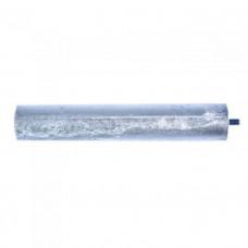 Анод магниевый длина 145 мм, диаметр 25 мм, шпилька 10 мм, резьба M5 100421