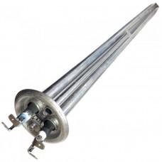 Нагреватель с сухими ТЭНами 2000 Вт (0,7+1,3 кВт) резьба для анода М4, длина 480 мм 20117