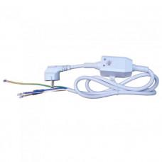 Шнур сетевой с УЗО 16/0,03А, контакты под разъём, 220V, 66598