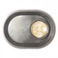 Фланец овальный для ТЭНов RCA с прокладкой 993012