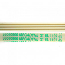 Приводной ремень 1197 J5 L-1155 мм, белый J180