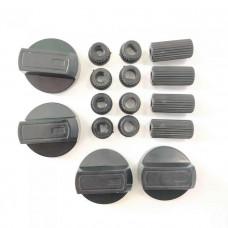 Комплект ручек управления для плиты WL1034